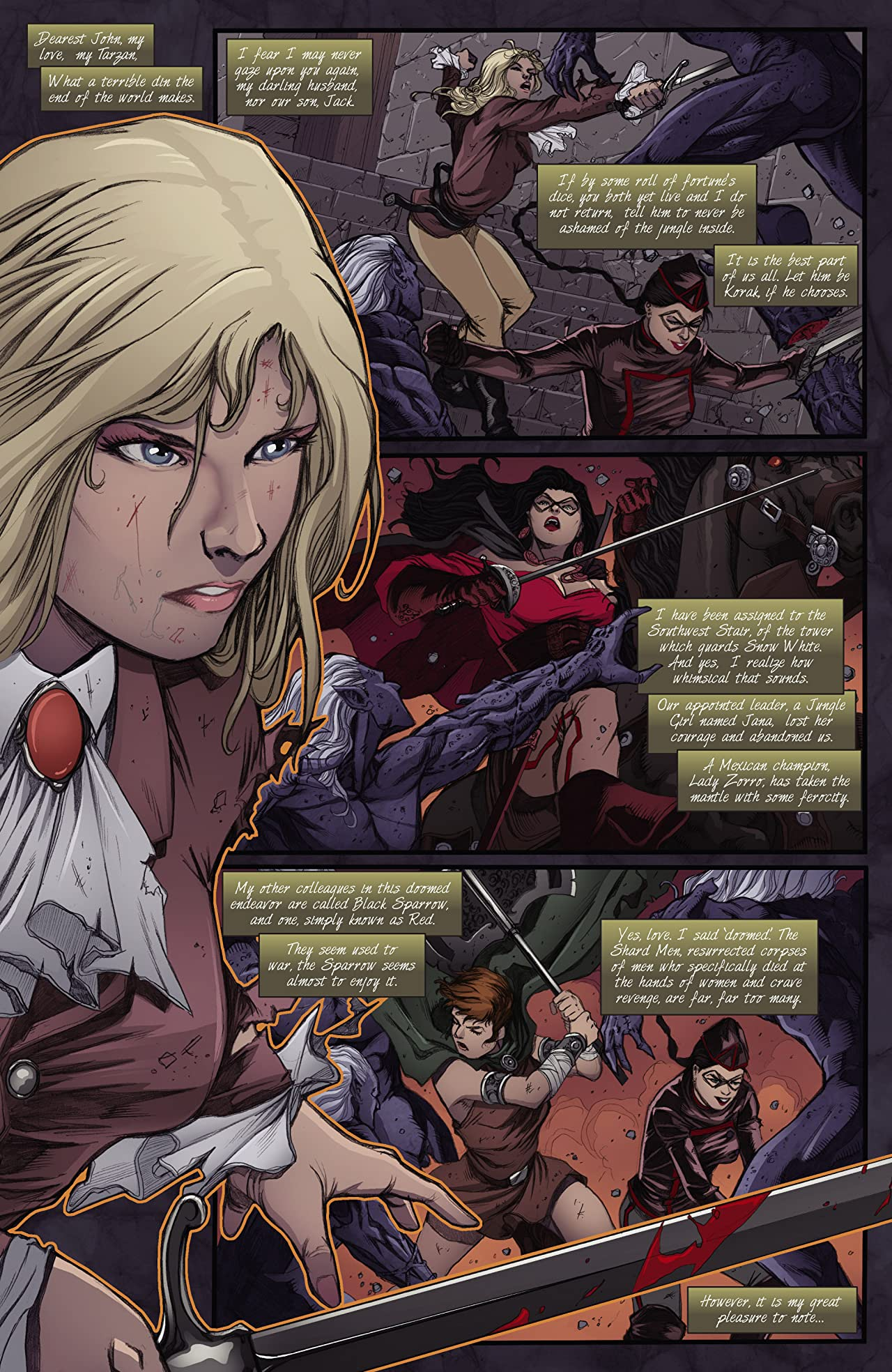 Swords of Sorrow #6 (of 6): Digital Exclusive Edition
