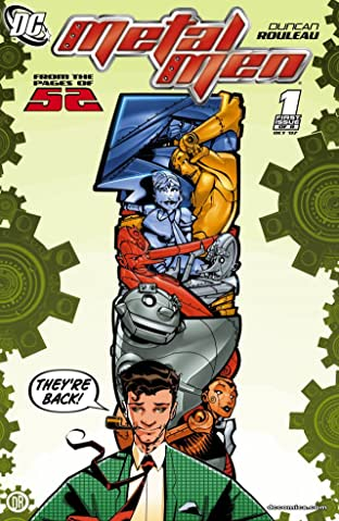 Metal Men (2007-2008) #1 (of 8)