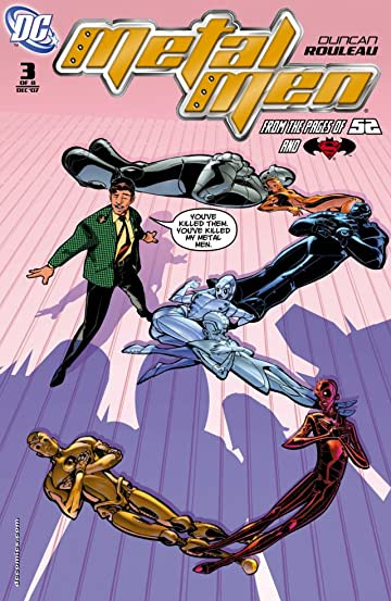 Metal Men (2007-2008) #3 (of 8)
