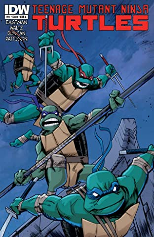 Teenage Mutant Ninja Turtles No.11