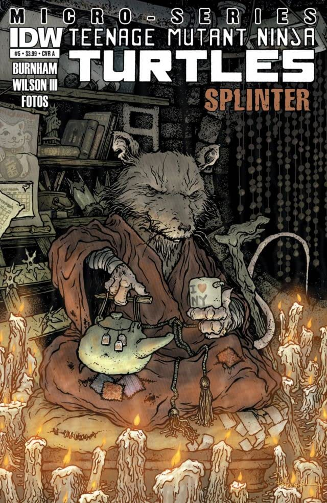 Teenage Mutant Ninja Turtles Micro Series #5: Splinter