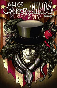 Alice Cooper vs. CHAOS! #2: Digital Exclusive Edition