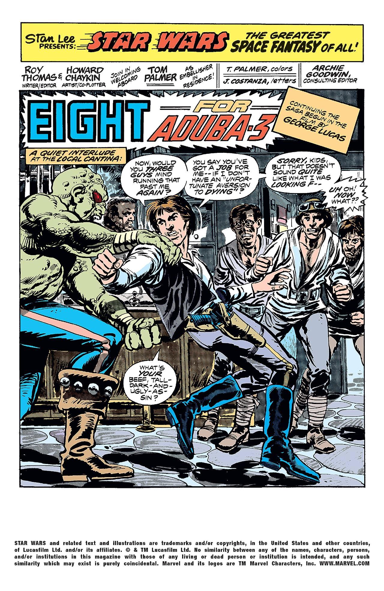 Star Wars (1977-1986) #8