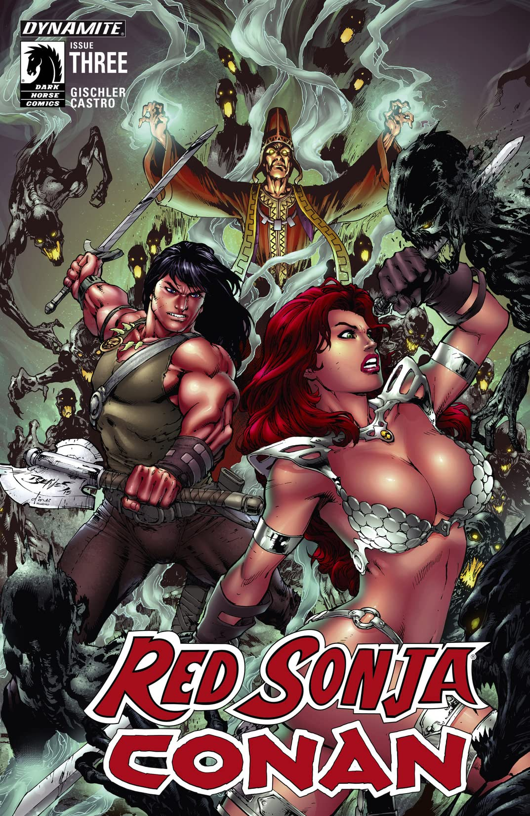 Red Sonja/Conan #3 (of 4): Digital Exclusive Edition