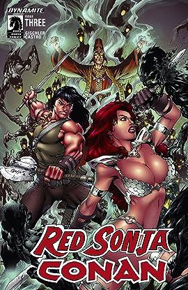 Red Sonja/Conan #3 (of 4): Digital Exclusive Edition