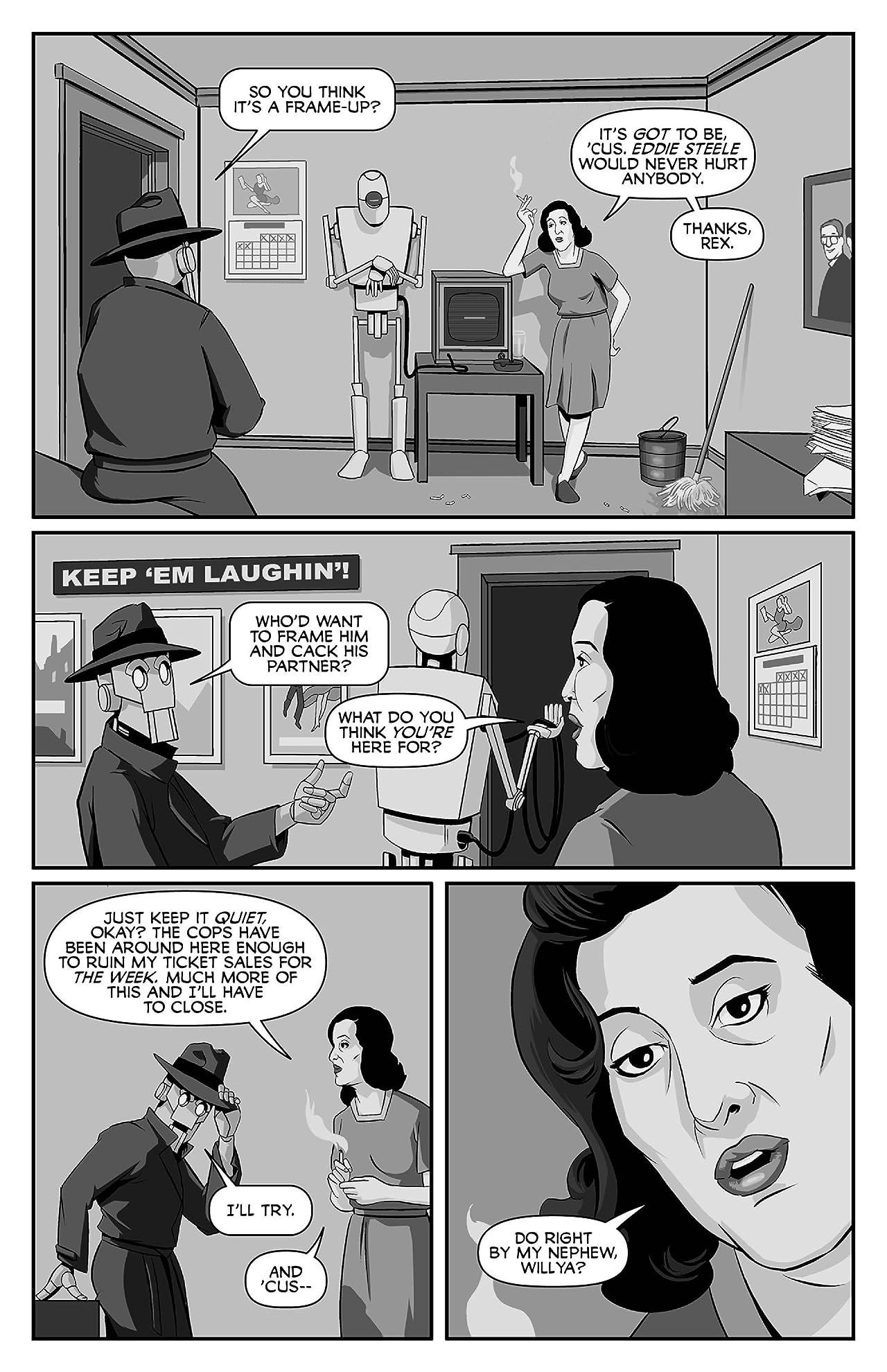 Copernicus Jones: Robot Detective #7