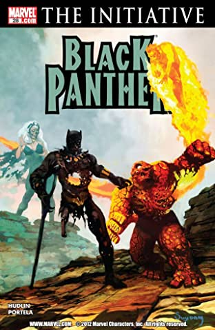 Black Panther (2005-2008) No.28
