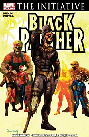 Black Panther (2005-2008) No.29