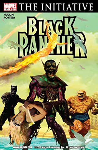 Black Panther (2005-2008) No.30