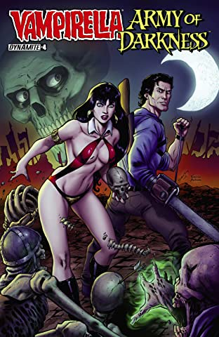 Vampirella/Army of Darkness No.4 (sur 4): Digital Exclusive Edition