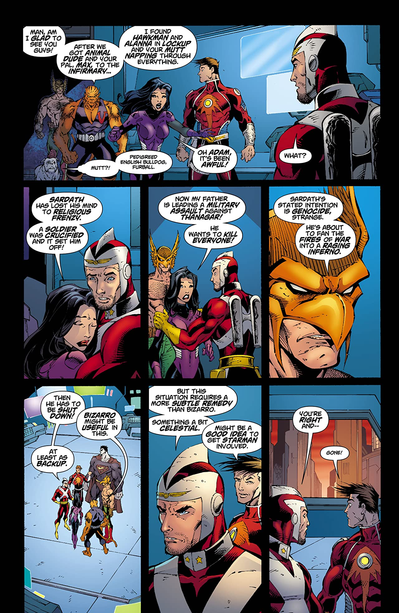 Rann-Thanagar Holy War #5 (of 8)