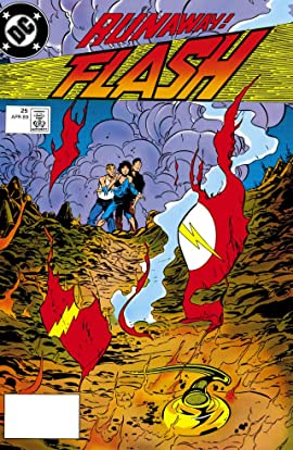 The Flash (1987-2009) #25