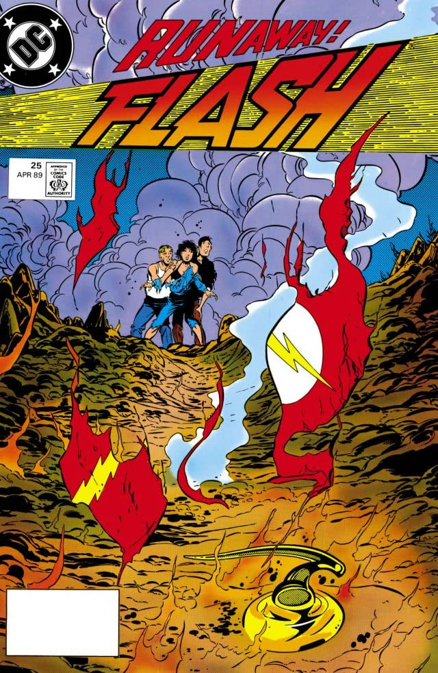 The Flash (1987-2009) #25