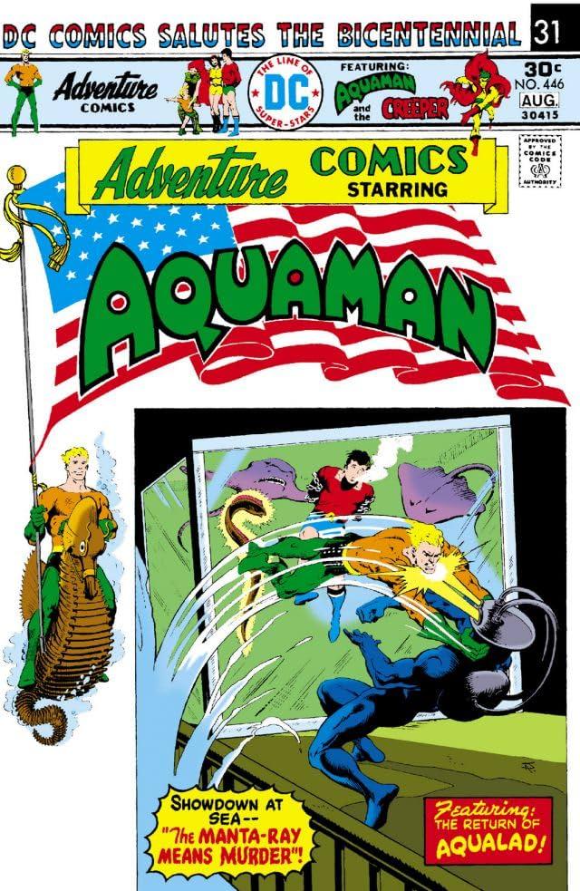 Adventure Comics (1935-1983) #446-447