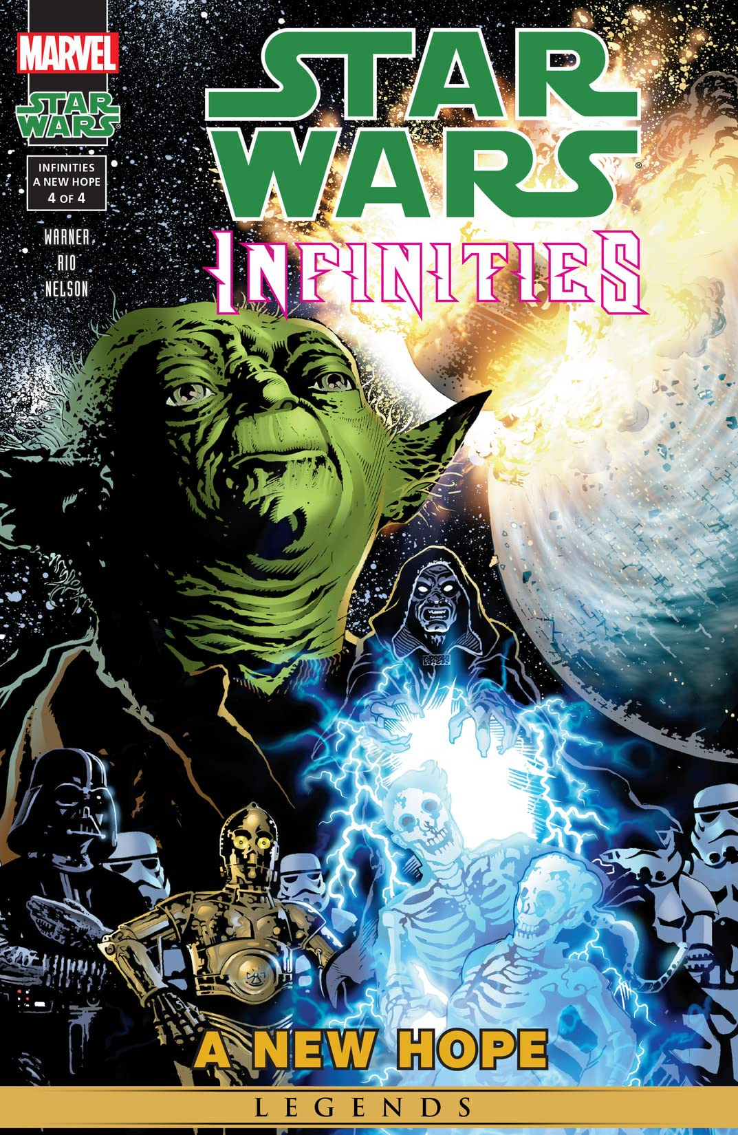 Star Wars Infinities: A New Hope #4 (of 4) - Comics by comiXology