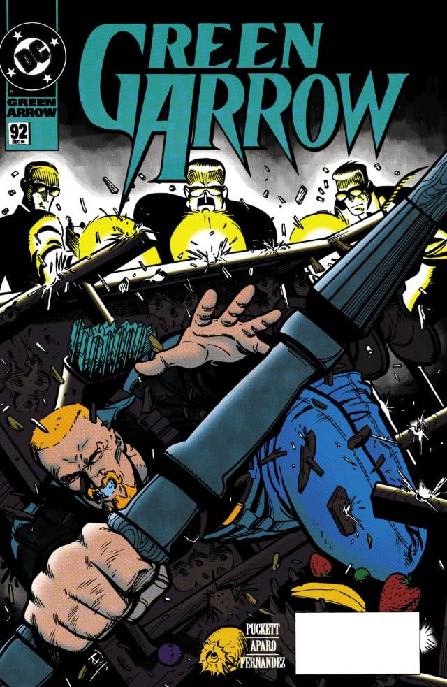 Green Arrow (1988-1998) #92