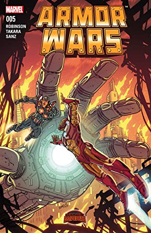 Armor Wars (2015) No.5