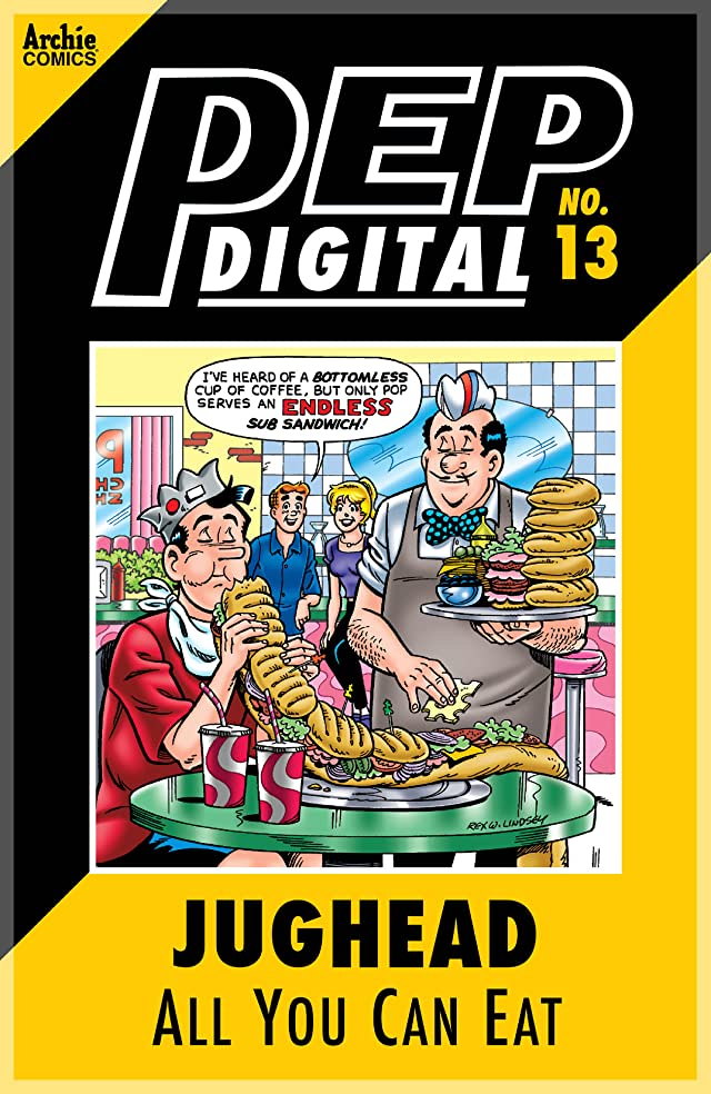 PEP Digital #13: Jughead All You Can Eat