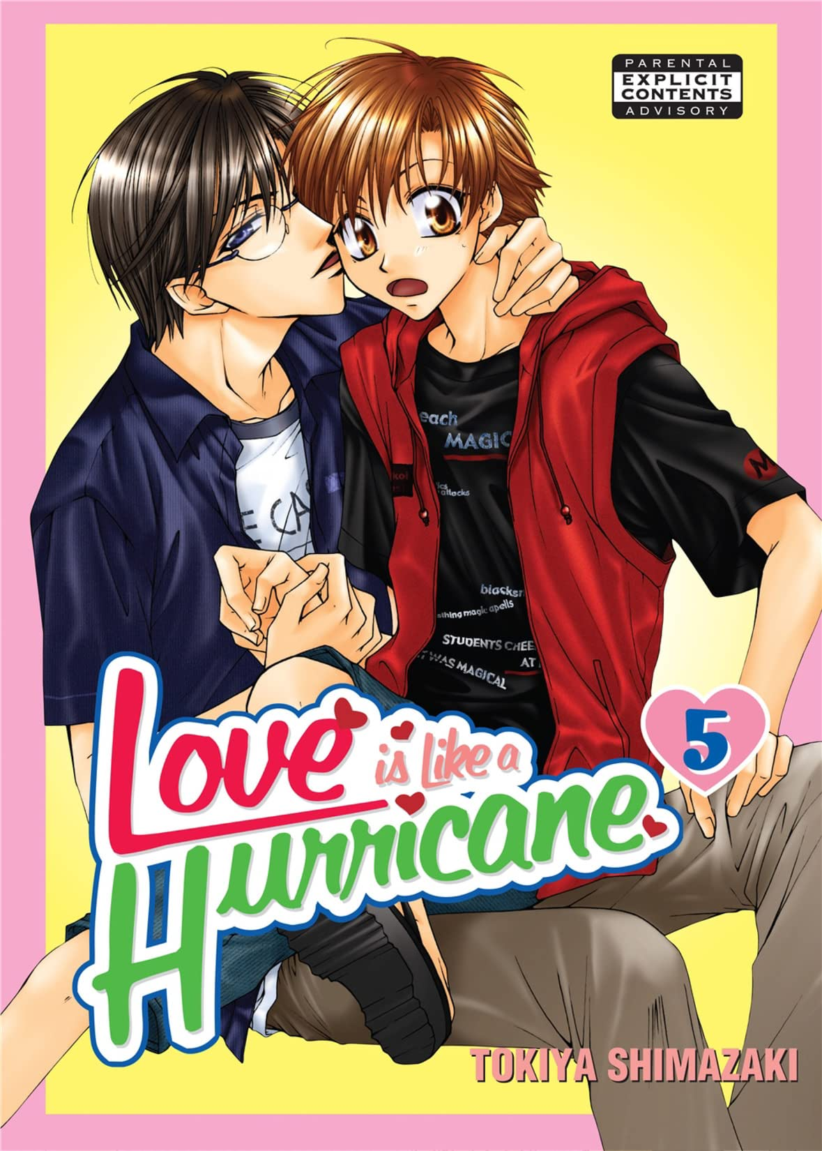 Love is like a Hurricane Vol. 5