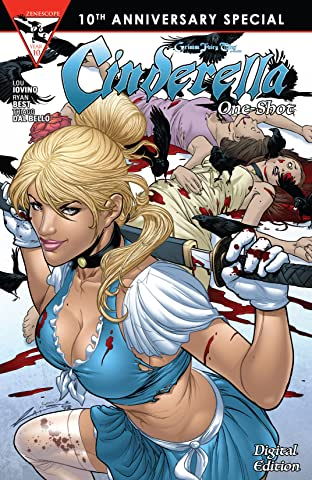Grimm Fairy Tales 10th Anniversary One Shot - Cinderella #1
