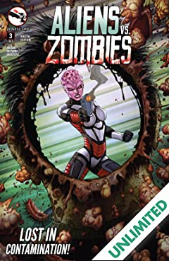 Aliens Vs. Zombies #3 (of 5)