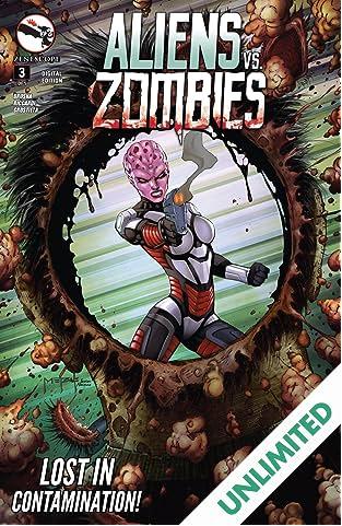 Aliens Vs. Zombies #3 (of 5)
