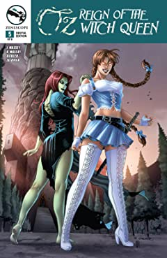 Oz: Reign of the Witch Queen #5 (of 6)