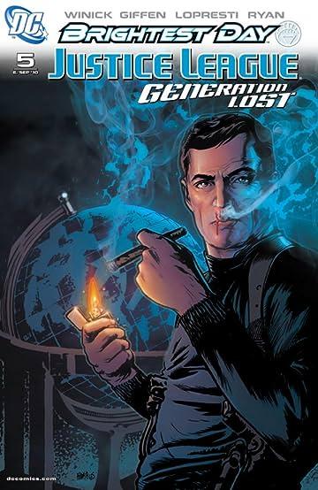 Justice League: Generation Lost #5