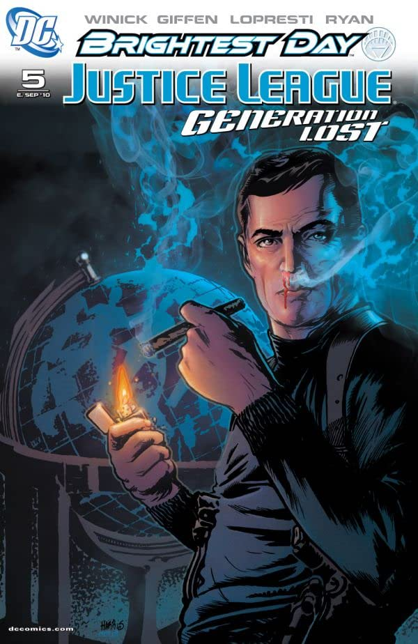 Justice League: Generation Lost #5