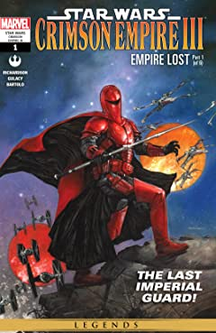 Star Wars: Crimson Empire III - Empire Lost (2011-2012) #1 (of 6)