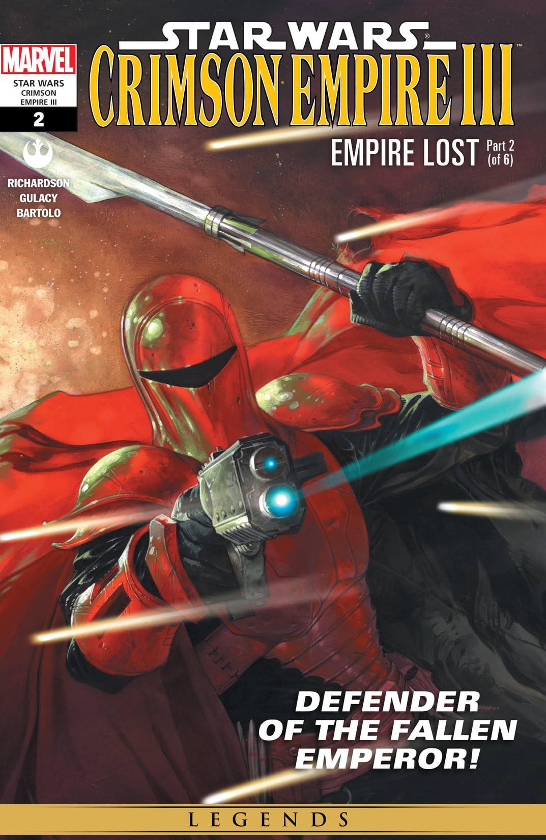 Star Wars: Crimson Empire III - Empire Lost (2011-2012) #2 (of 6)