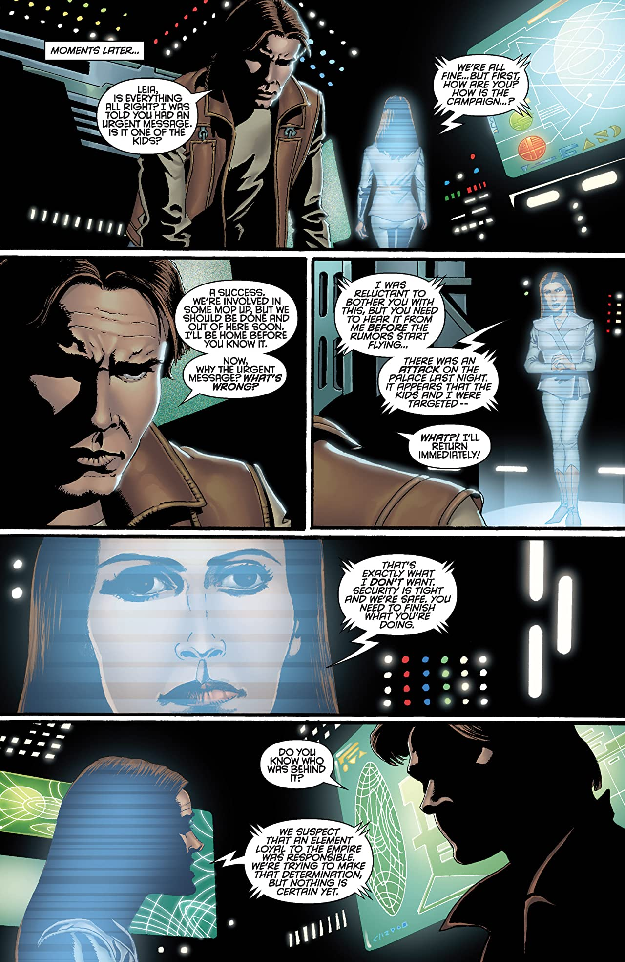 Star Wars: Crimson Empire III - Empire Lost (2011-2012) #3 (of 6)