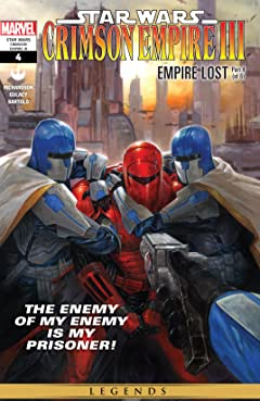 Star Wars: Crimson Empire III - Empire Lost (2011-2012) #4 (of 6)