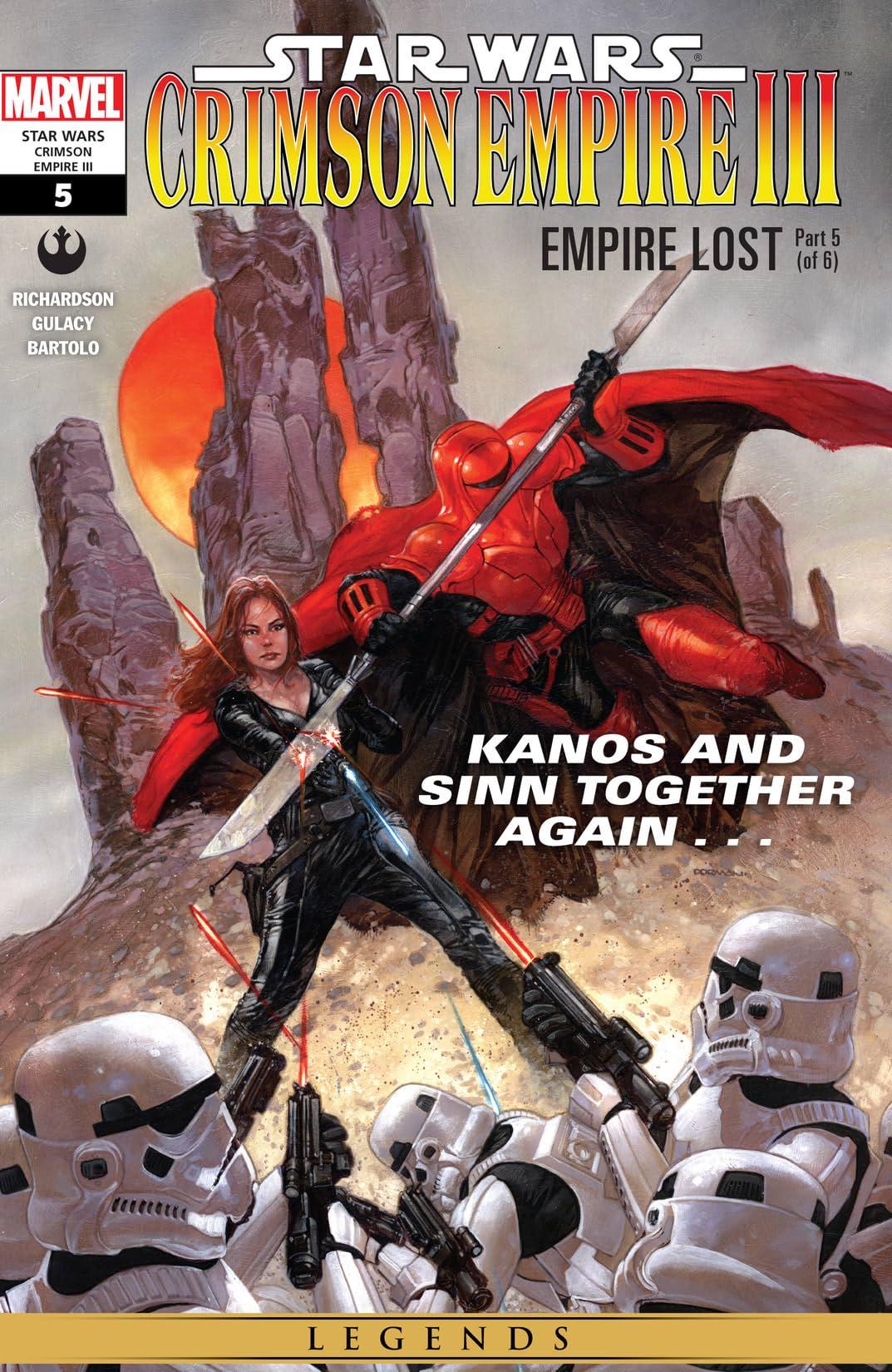 Star Wars: Crimson Empire III - Empire Lost (2011-2012) #5 (of 6)