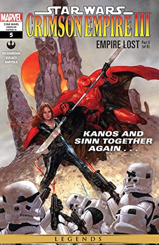Star Wars: Crimson Empire III - Empire Lost (2011-2012) #5 (of 6)