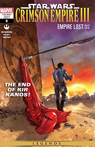 Star Wars: Crimson Empire III - Empire Lost (2011-2012) #6 (of 6)