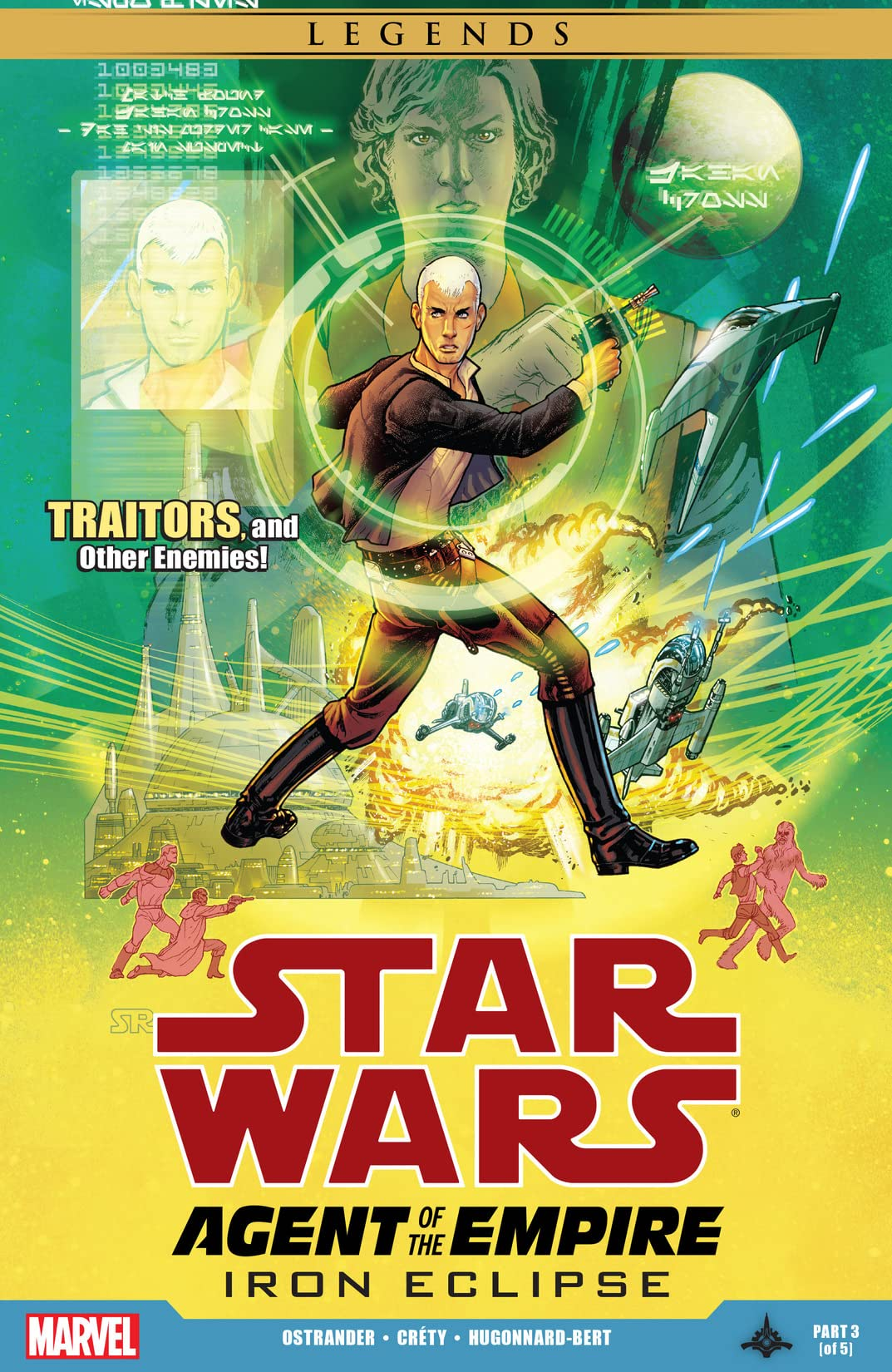 Star Wars: Agent of the Empire - Iron Eclipse (2011-2012) #3 (of 5)