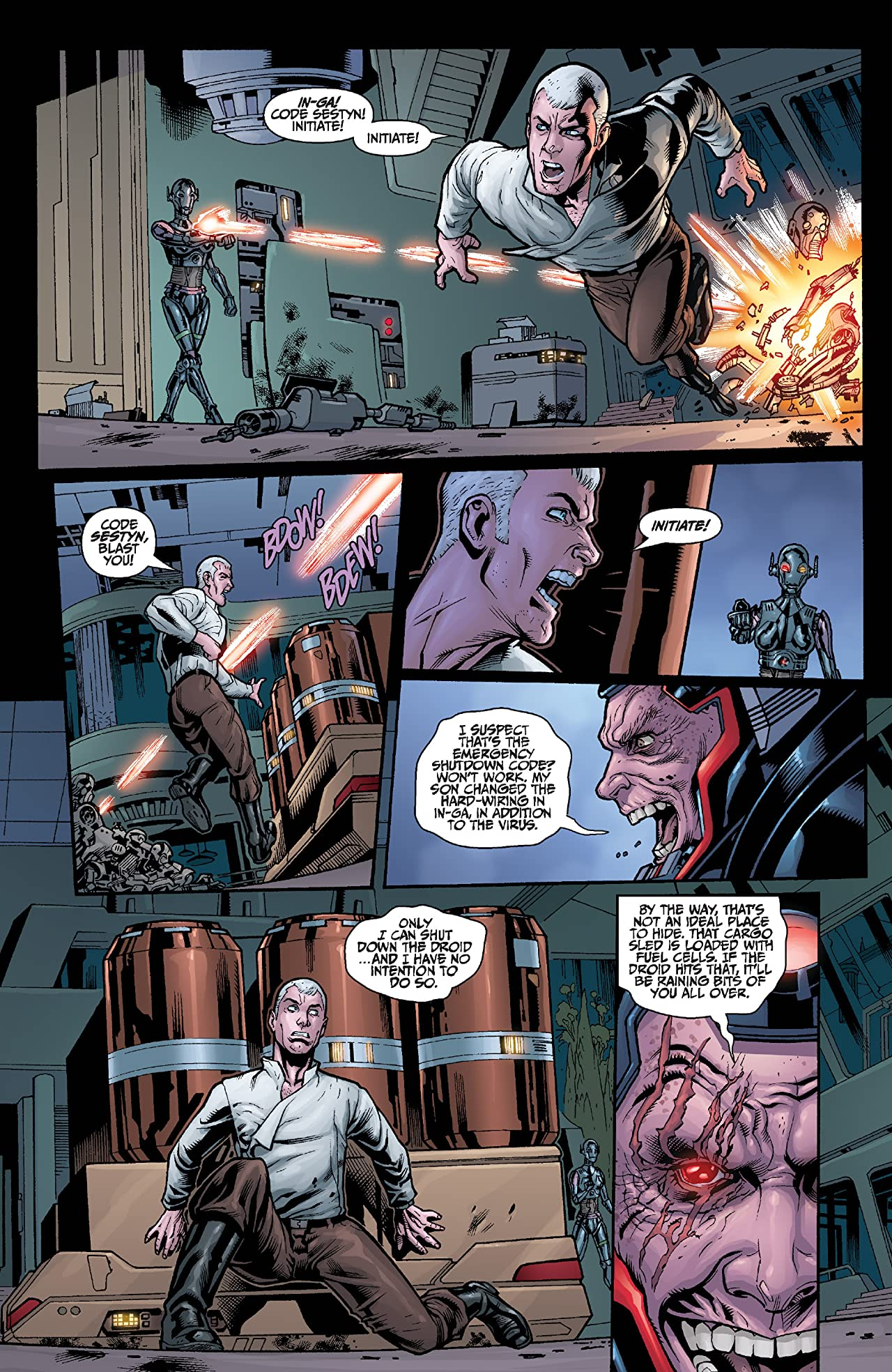 Star Wars: Agent of the Empire - Iron Eclipse (2011-2012) #5 (of 5)