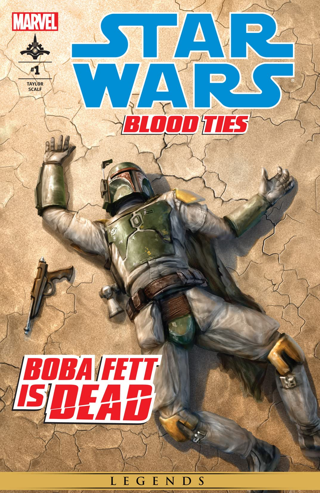 Star Wars: Blood Ties - Boba Fett is Dead (2012) #1 (of 4)