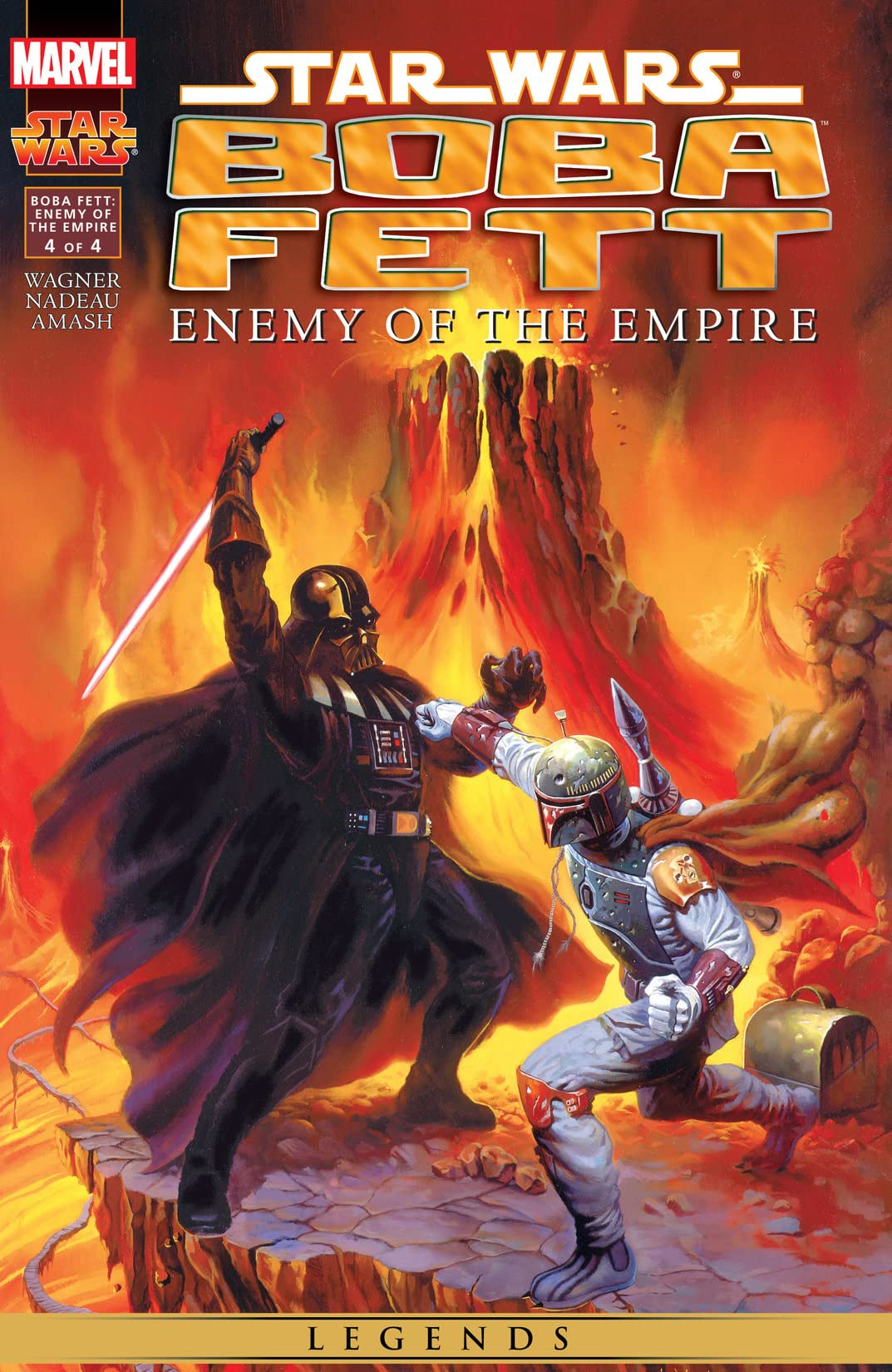Star Wars: Boba Fett - Enemy of the Empire (1999) #4 (of 4)