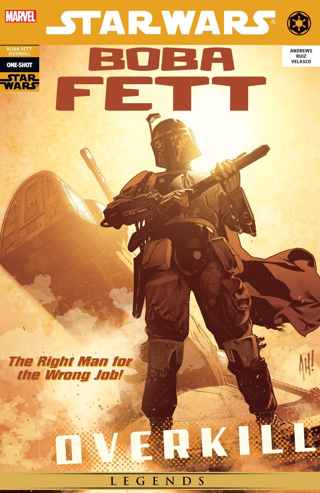 Star Wars: Boba Fett - Overkill (2006) #1