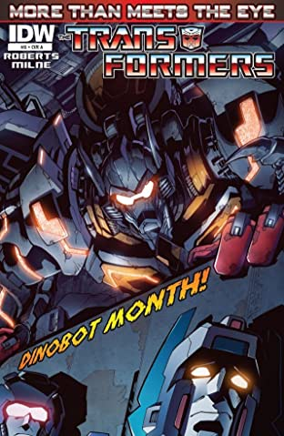 Transformers: More Than Meets the Eye (2011-) #8