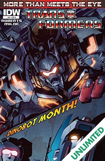 Transformers: More Than Meets the Eye (2011-2016) #8