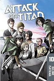 Attack on Titan Tome 10