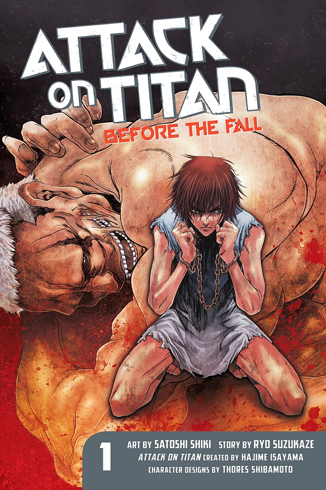Attack on Titan: Before the Fall Vol. 1