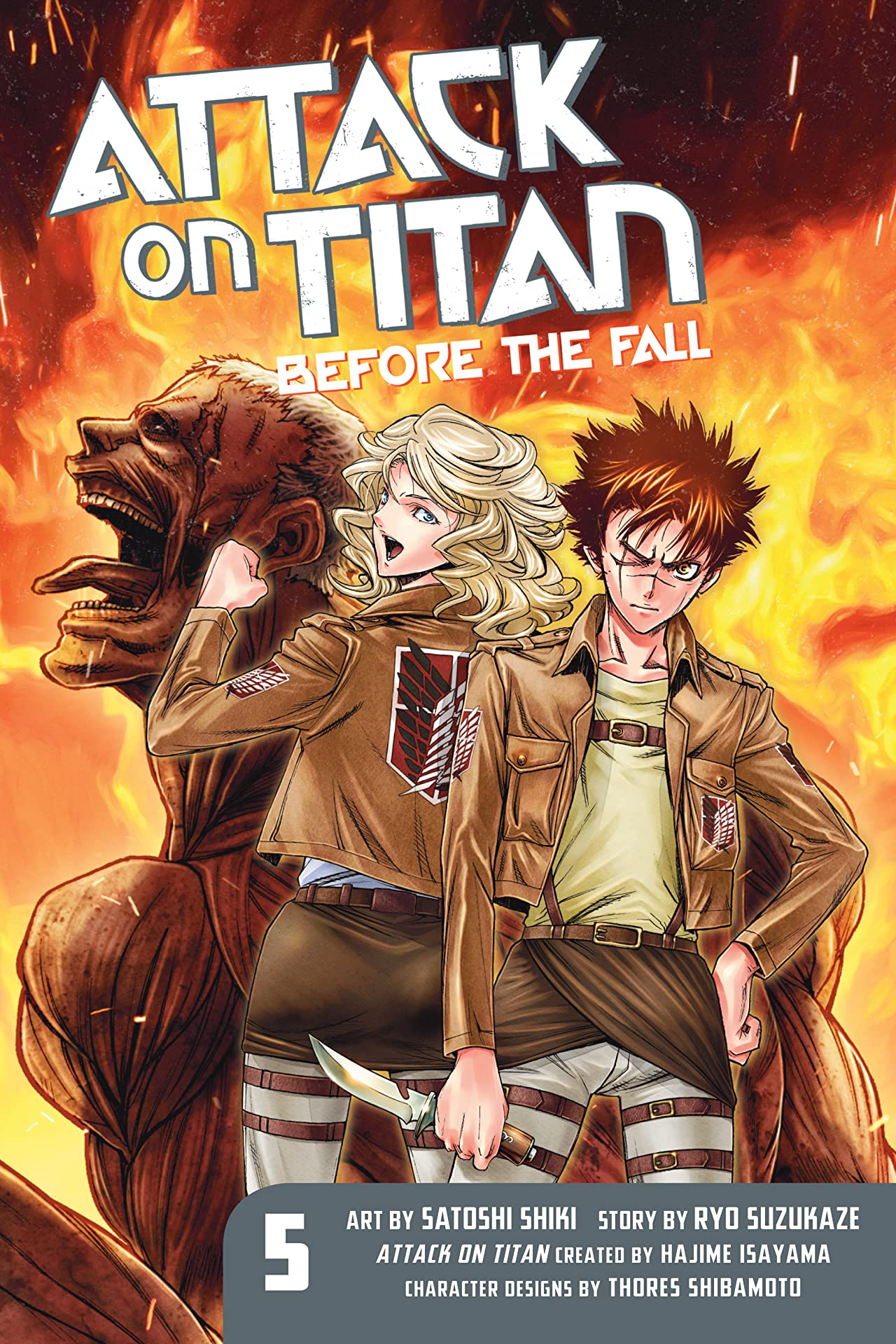 Attack on Titan: Before the Fall Vol. 5