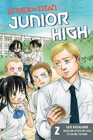 Attack on Titan: Junior High Tome 2