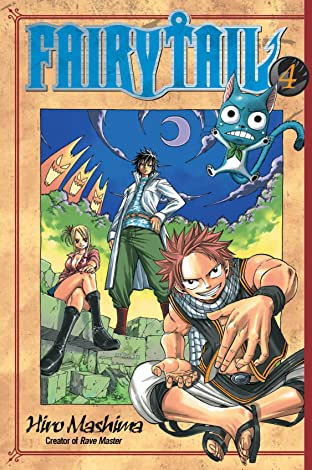 Fairy Tail Tome 4