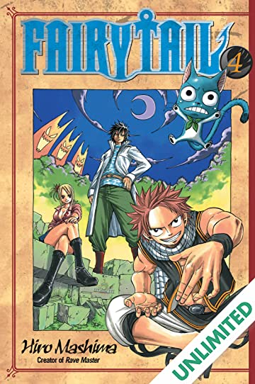 Fairy Tail Vol. 4