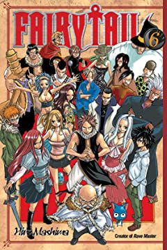 Fairy Tail Vol. 6